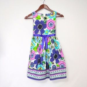 Bonnie Jean Floral Sun Dress Size 10